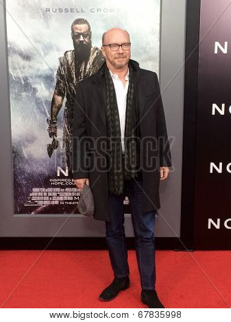 NEW YORK-MAR 26: Filmmaker Paul Haggis attends the premiere of