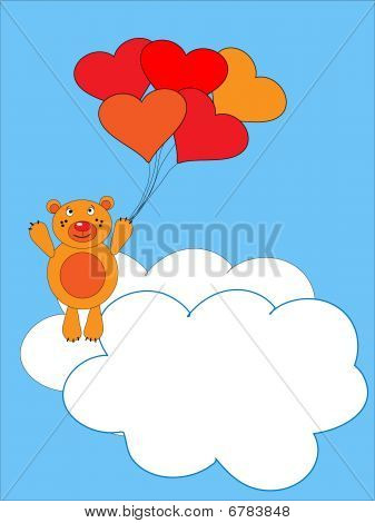 The Teddy Bear Flies On Air Ball.