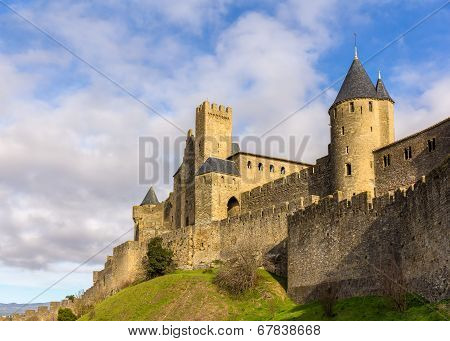 Carcassonne Town Walls - France, Languedoc-roussillon