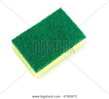 Green And Yellow Sponge