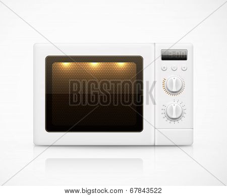 Isolated Microwave