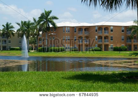 Typical Florida Apartment Complex