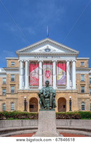 Bascom Hall On The Campus Of The University Of Wisconsin-madison
