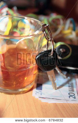 Whiskey Keys And Euro Money