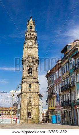Clerigos Tower In Porto - Portugal