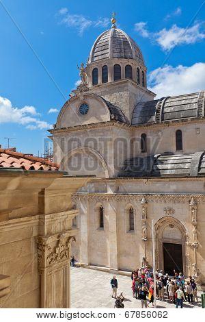 Cathedral Of St. James In Sibenik, Croatia