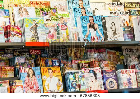 Magazines And Newspaper Media Press