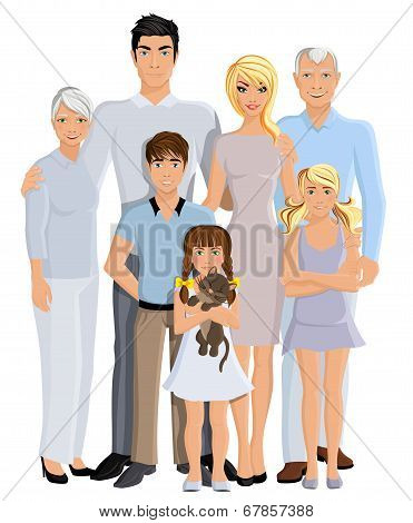 Family generation portrait
