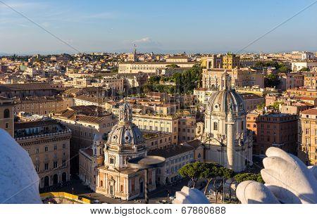 Churches Santa Maria Di Loreto And Santissimo Nome Di Maria Al Foro Traiano In Rome