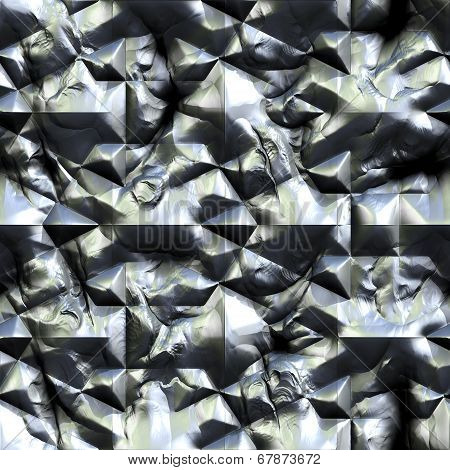 Seamless Texture Of Patterned  Frames