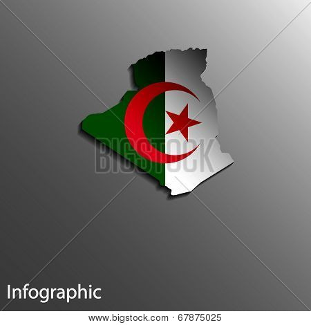 Country Map Of Algeria