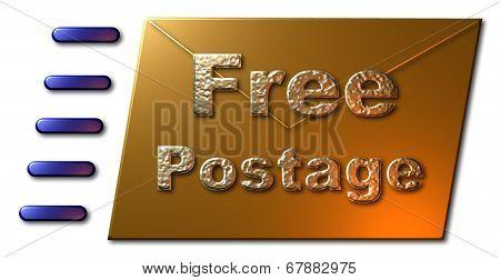 Free Postage (Envelope)