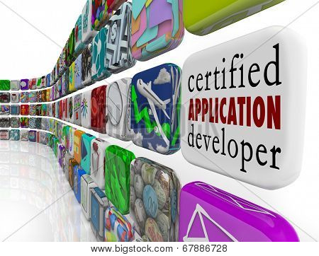 Certified Application Developer app programs  computer programmer software engineer
