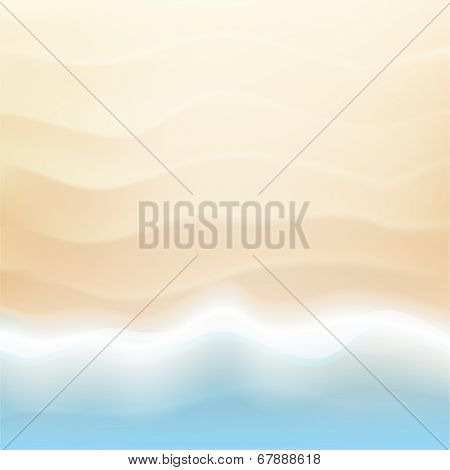 Sea and sand background with sea landscape