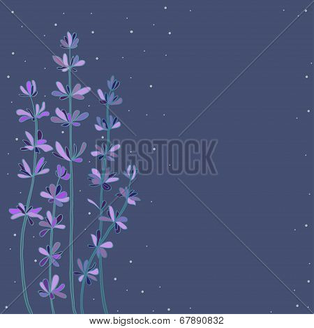 abstract lavender