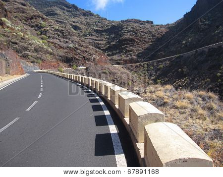 Road on Tenerife