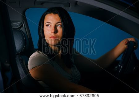 The Girl Behind The Wheel