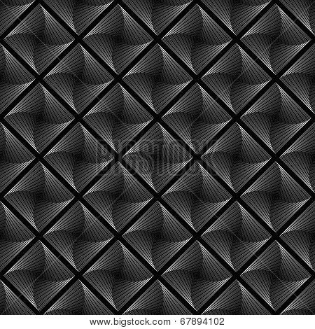 Design Seamless Vortex Movement Strip Geometric Pattern