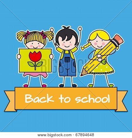 children back to school