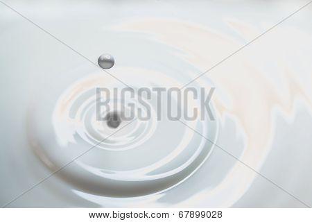 Liquid Milk Drop