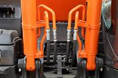 foto of hydraulics  - The hydraulic system of the modern tractor - JPG