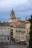 stock photo of avignon  - View from Place du Palais in Avignon France - JPG