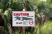 stock photo of crocodilian  - Alligator Sign Ding Darling Wildlife Refuge Sanibel Florida - JPG