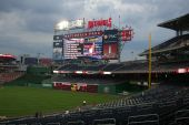 Nationals Park Scoreboard - Washington, Dc