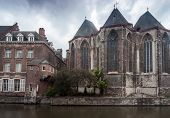 stock photo of gents  - In Gent by the water there is St - JPG