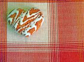 heart-like biscuit