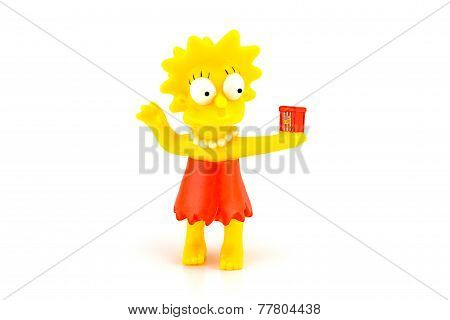 Lisa Simpson Figure Toy Character