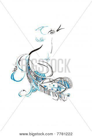 Fabulous Blue Bird [converted].eps