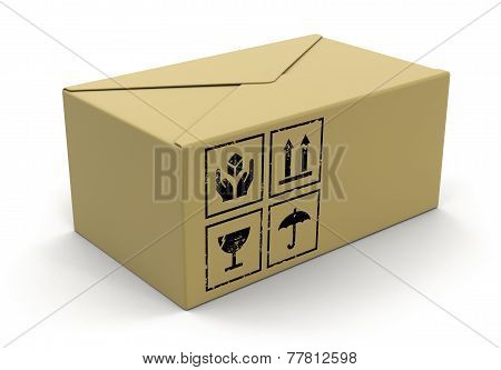 Big package  (clipping path included)