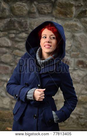 Redhead Girl Posing