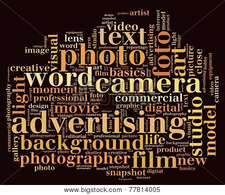 Photography Word Cloud
