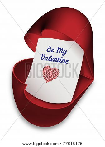 Be My Valentine - valentines day card