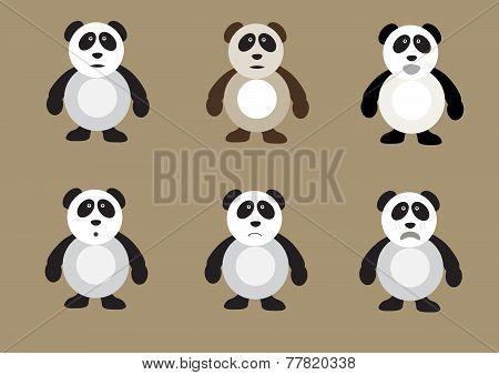 Panda Bear Set