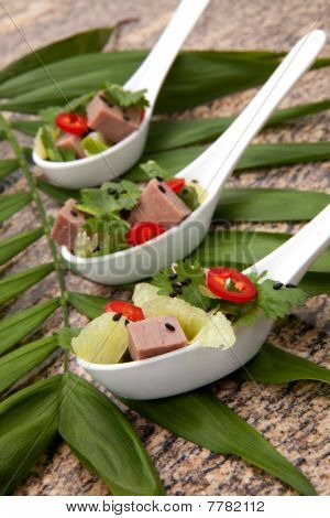 Roast Beef Asian Salad