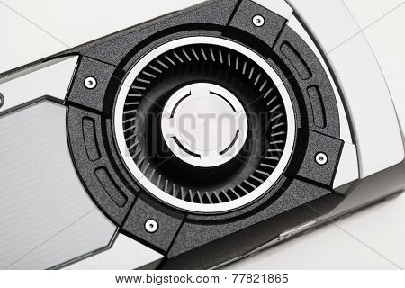 turbo fan of graphic card