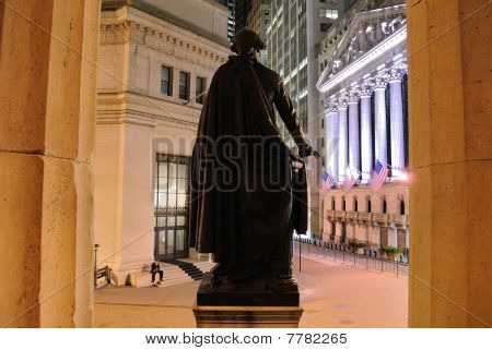 Federal Hall On Broad Street