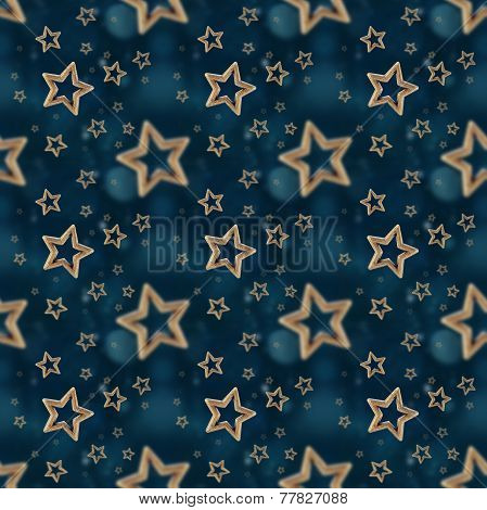 Night Stars Seamless Pattern 2