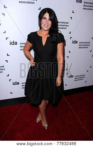 LOS ANGELES - DEC 5:  Monica Lewinsky at the 2014 IDA Documentary Awards at the Paramount Studios on December 5, 2014 in Los Angeles, CA