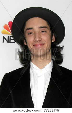 LOS ANGELES - DEC 8:  Taylor John Wiliams at the NBC's
