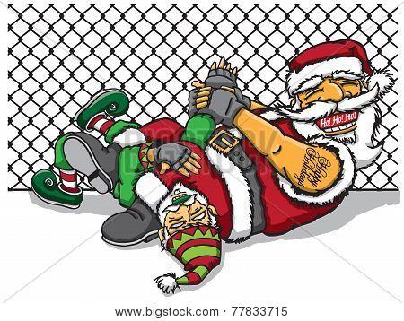 Jiu Jitsu Santa