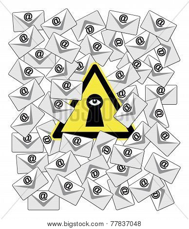 Caution Email Spy