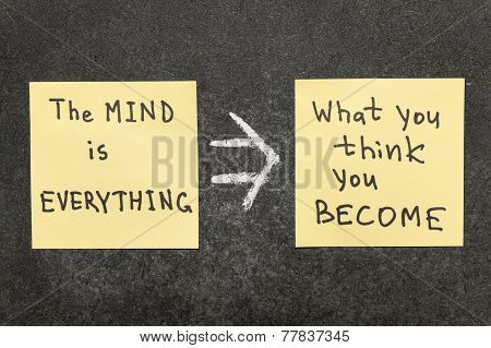 mind is everything