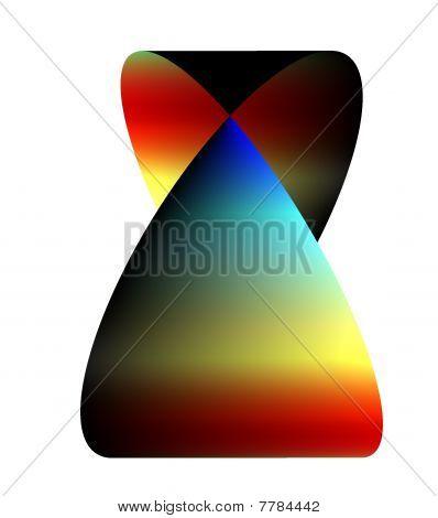 rainbow moebius