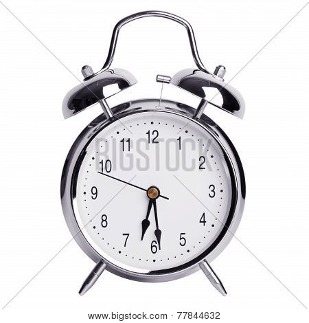 Half Past Six On An Alarm Clock