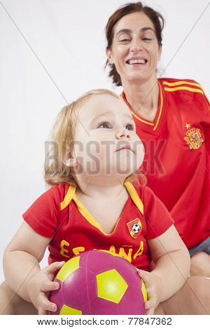 Epic Look Baby Soccer Player