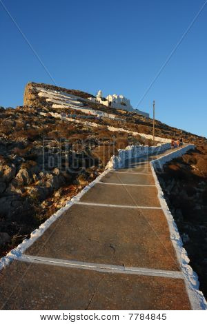 Folegandros monastery